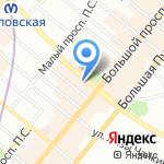 Би Хай Инвест на карте Санкт-Петербурга