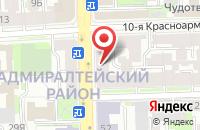Схема проезда до компании Медуза в Санкт-Петербурге