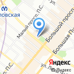 Emporio Armani на карте Санкт-Петербурга