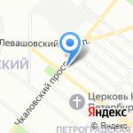 Fishermaster.ru на карте Санкт-Петербурга