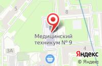 Схема проезда до компании Детский мир в Астрахани