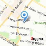 ФОРСАД на карте Санкт-Петербурга
