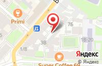 Схема проезда до компании Кватро Инвест в Санкт-Петербурге