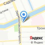 COME`In на карте Санкт-Петербурга