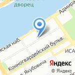 Столетие на карте Санкт-Петербурга