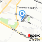 Ком Интер на карте Санкт-Петербурга