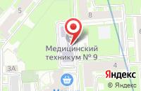 Схема проезда до компании Grace в Астрахани