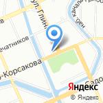 Лентекс на карте Санкт-Петербурга