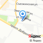 Тулос на карте Санкт-Петербурга