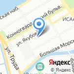 Детский сад №7 на карте Санкт-Петербурга