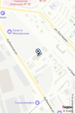 ТД Балтийская Игрушка на карте Санкт-Петербурга