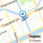 Happy House Hostel на карте Санкт-Петербурга