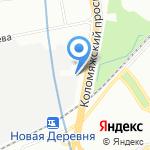 СМОТО на карте Санкт-Петербурга