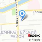 Ладожский Домостроительный Комбинат на карте Санкт-Петербурга