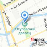 Вуаяжер на карте Санкт-Петербурга