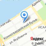Студия дизайна интерьера Маши Марченко на карте Санкт-Петербурга