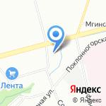 ПитерПромСнаб на карте Санкт-Петербурга