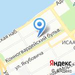 Ля Русь на карте Санкт-Петербурга