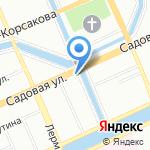 СДЮСШОР №1 Адмиралтейского района на карте Санкт-Петербурга