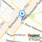 Инь-Ян на карте Санкт-Петербурга