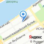 Светлячок на карте Санкт-Петербурга
