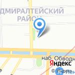 Магазин нижнего белья на карте Санкт-Петербурга