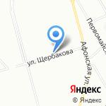 Часик на карте Санкт-Петербурга