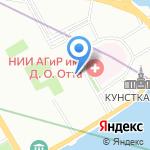 Музей истории на карте Санкт-Петербурга