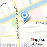 ТНРДОРС на карте Санкт-Петербурга