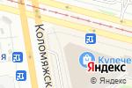 Схема проезда до компании Себе любимой в Санкт-Петербурге