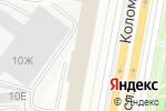Схема проезда до компании Квадратный метр в Санкт-Петербурге