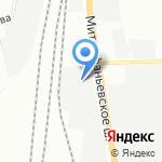 АРС на карте Санкт-Петербурга