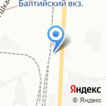 Infocar на карте Санкт-Петербурга
