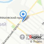 Ленинградский областной институт развития образования на карте Санкт-Петербурга