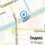 Информационно-методический центр Адмиралтейского района на карте Санкт-Петербурга