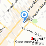 Академия танца Бориса Эйфмана на карте Санкт-Петербурга