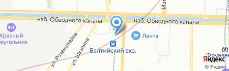 Linzispb на карте Санкт-Петербурга