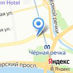 WayCup на карте Санкт-Петербурга
