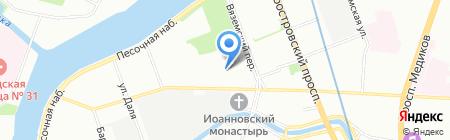 МинутаМаркет на карте Санкт-Петербурга