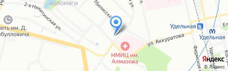 L`avantage на карте Санкт-Петербурга