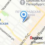 Единый центр индустрии красоты на карте Санкт-Петербурга