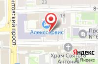 Схема проезда до компании Вита Микс в Санкт-Петербурге