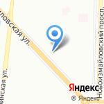 Краснопутиловская 66-2 на карте Санкт-Петербурга