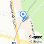 Спортмастер на карте Санкт-Петербурга