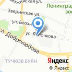 Бизнес-ТЕМА на карте Санкт-Петербурга