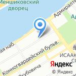 Пресс-служба на карте Санкт-Петербурга