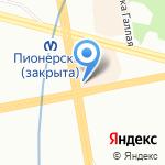 Ивановский трикотаж на карте Санкт-Петербурга
