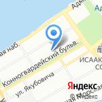 Адвокатская контора Шаповалова А.Г. на карте Санкт-Петербурга