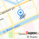 4DOCTORS на карте Санкт-Петербурга