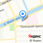 Детский сад №127 на карте Санкт-Петербурга